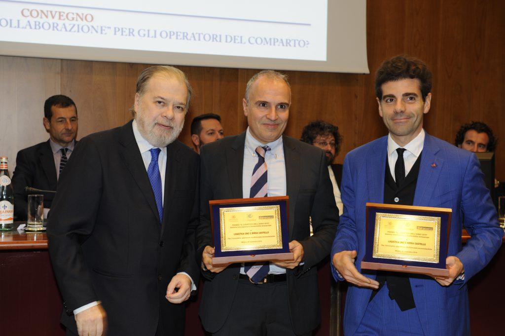 """Birra Castello e Logistica Uno premiati con """"IL LOGISTICO DELL'ANNO"""" 2016"""