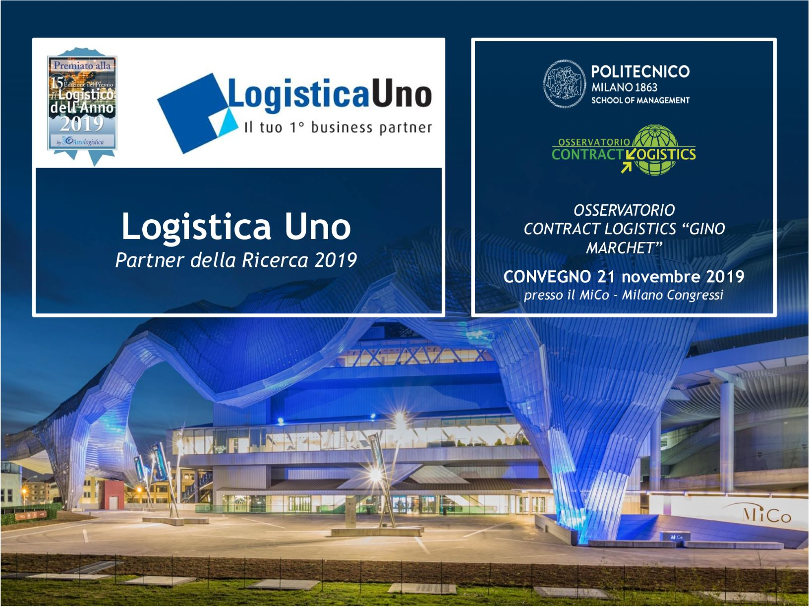 CONTRACT LOGISTICS OBSERVATORY CONFERENCE 2019