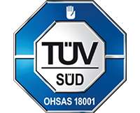 Logo TUV-SUD OHSAS 18001